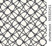 vector seamless pattern.... | Shutterstock .eps vector #505321411