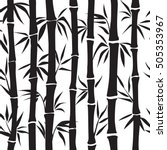 bamboo seamless pattern. floral ... | Shutterstock .eps vector #505353967