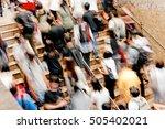 rush hour | Shutterstock . vector #505402021