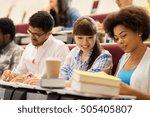 education  high school ... | Shutterstock . vector #505405807