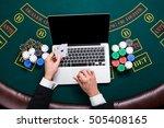 casino  online gambling ...   Shutterstock . vector #505408165