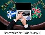casino  online gambling ...   Shutterstock . vector #505408471