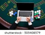 casino  online gambling ...   Shutterstock . vector #505408579