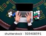 casino  online gambling ...   Shutterstock . vector #505408591