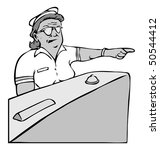 cartoon vector gray scale... | Shutterstock .eps vector #50544412