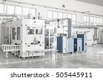 factory and industrial... | Shutterstock . vector #505445911