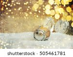 new year celebration  christmas ... | Shutterstock . vector #505461781
