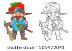 musketeer   Shutterstock . vector #505472041