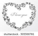 retro frame like abstract... | Shutterstock .eps vector #505500781