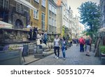 gdansk  poland   august 29 ... | Shutterstock . vector #505510774