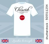 london city borough chiswick... | Shutterstock .eps vector #505511254