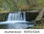 forest waterfall | Shutterstock . vector #505515265