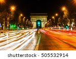 paris  france   october 19 ... | Shutterstock . vector #505532914