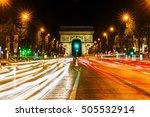paris  france   october 19 ... | Shutterstock . vector #505532914