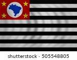 brazilian state of sao paulo... | Shutterstock . vector #505548805
