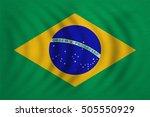 brazilian national official... | Shutterstock . vector #505550929