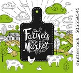 Farmers Market Logo  Stickers...