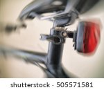 bicycle  detail  tail light ... | Shutterstock . vector #505571581