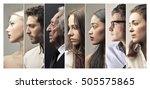 profiles | Shutterstock . vector #505575865