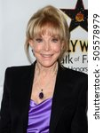 Small photo of LOS ANGELES - OCT 25: Barbara Eden at the Hollywood Walk of Fame Honors at Taglyan Complex on October 25, 2016 in Los Angeles, CA