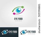 vision eye logo template emblem | Shutterstock .eps vector #505598881