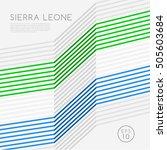 Sierra Leone   Modern Outlined...