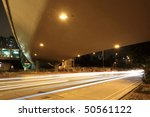 modern urban city night | Shutterstock . vector #50561122