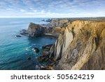 Atlantic Ocean Rocky Coastline...