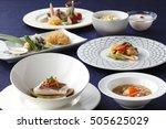 Japanese Platters Of Fresh...
