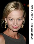 Small photo of Samantha Mathis at the Los Angeles premiere of 'The Queen' held at the Academy of Motion Picture Arts and Sciences in Beverly Hills, USA on October 3, 2006.
