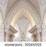 baroque goes gothic. digitally... | Shutterstock . vector #505692925