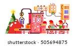 stock vector illustration of... | Shutterstock .eps vector #505694875