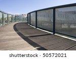 wooden bridge and rails. a... | Shutterstock . vector #50572021