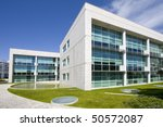cityscape office buildings with ... | Shutterstock . vector #50572087