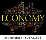 economy word cloud collage ...