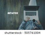 initiative concept | Shutterstock . vector #505761004