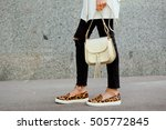 Fashionable Young Woman In...