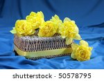 Yellow Daffodils On Basket