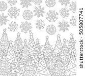 Vector Hand Drawn Snowflakes ...