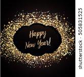 new year card    Shutterstock .eps vector #505831525