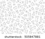 vector seamless background with ... | Shutterstock .eps vector #505847881