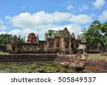 Stone Castle In Prasat Hin...