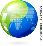 abstract earth background with... | Shutterstock .eps vector #50590501