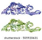 collection vintage baroque... | Shutterstock . vector #505920631