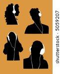 music lover | Shutterstock .eps vector #5059207