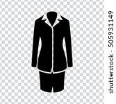 women suit icon | Shutterstock .eps vector #505931149