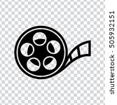 film reel  icon | Shutterstock .eps vector #505932151