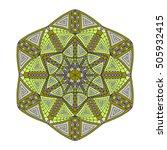 Colorful Hexagonal Pattern....