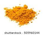 turmeric  curcuma  powder... | Shutterstock . vector #505960144
