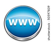 blue www website address button....   Shutterstock .eps vector #50597839